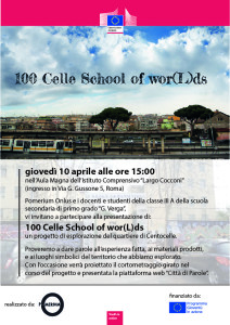 Locandina centocelle school of worlds