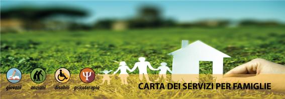 Sfoglia la carta dei servizi per le famiglie